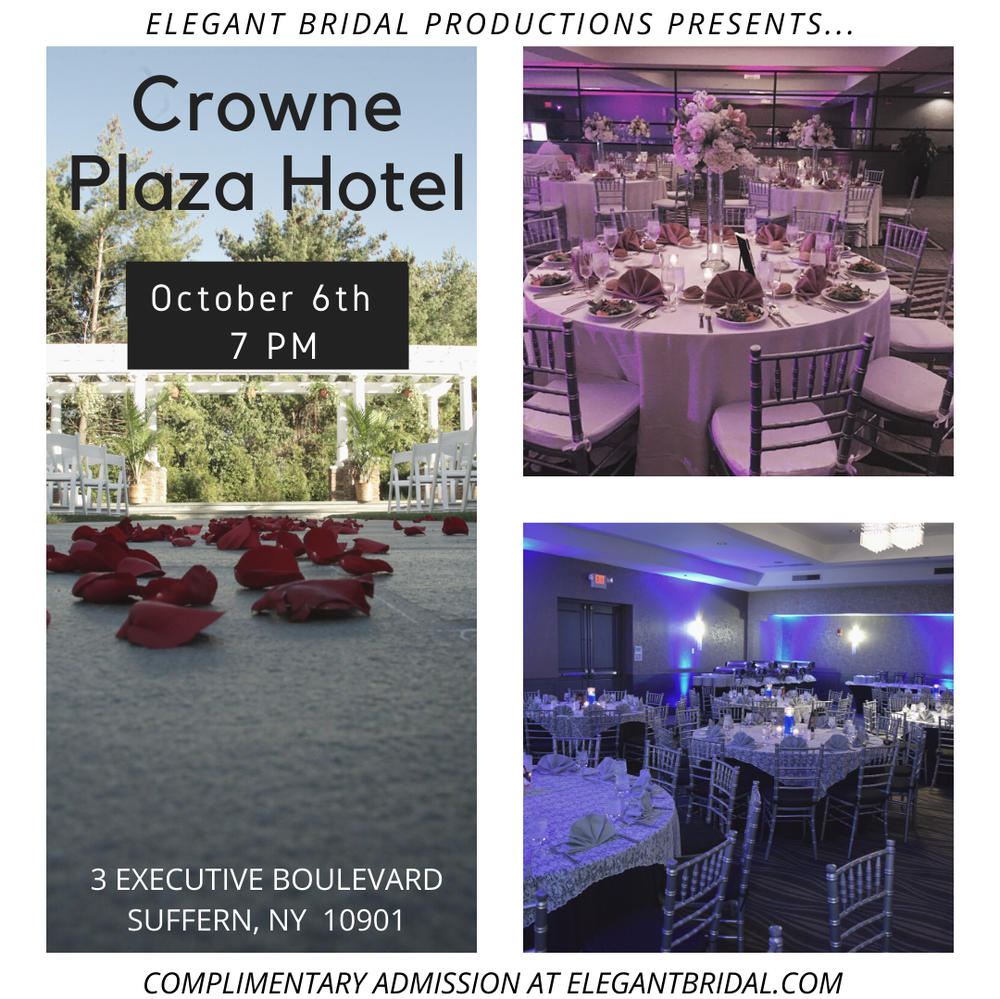 Crowne Plaze Hotel Bridal Show
