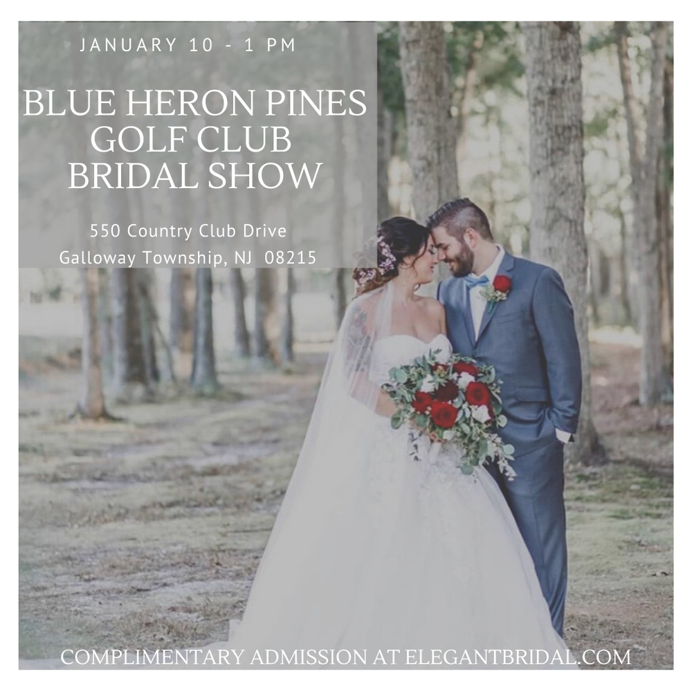 BLUE HERON PINES BRIDAL SHOW