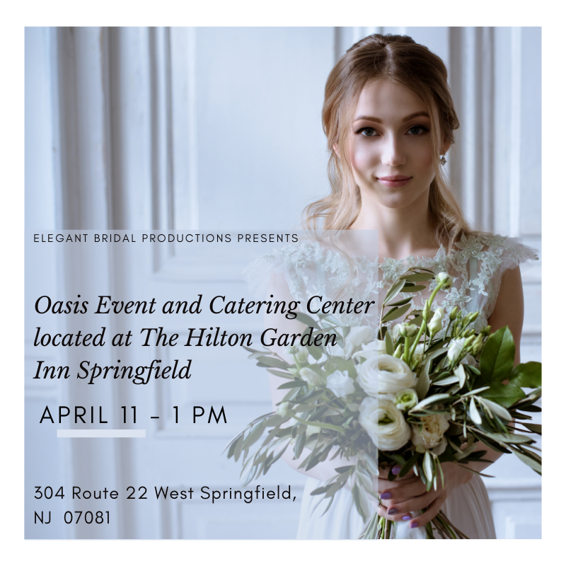 Oasis Event and Catering Center; located at The Hilton Garden Inn Springfield(Springfield NJ)
