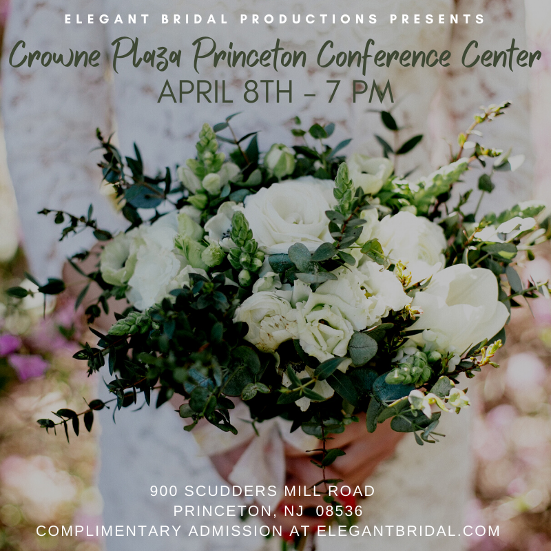 Crowne Plaza Princeton Conference Center Bridal Show