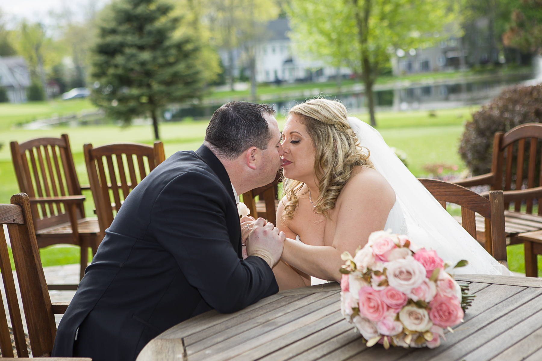 Ramsey Golf and Country Club | Michelle & Michael's Wedding | David Eric Studio Of Photography