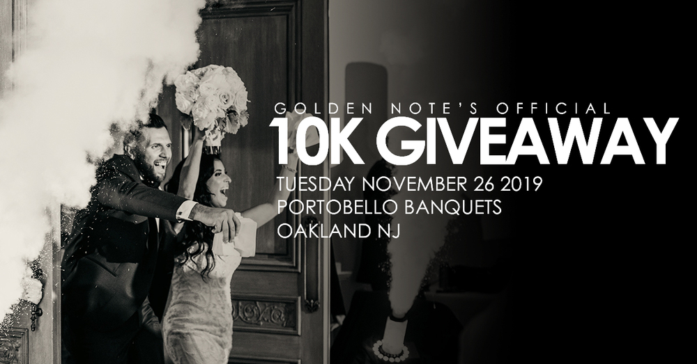 Golden Note's Official 10K Giveaway