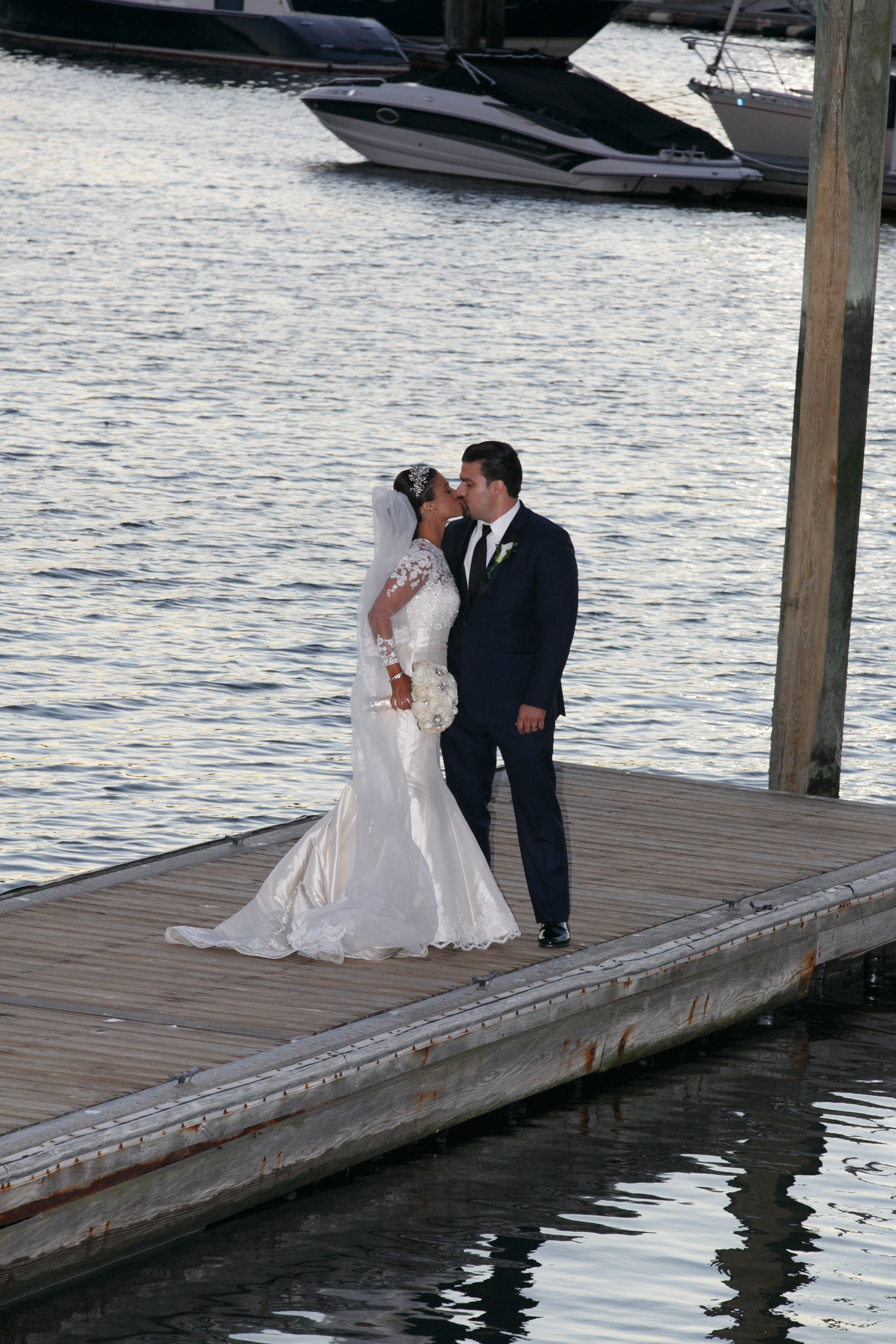 Amanda and Giovanni I Wedding I Glen Island Harbor Club , New York