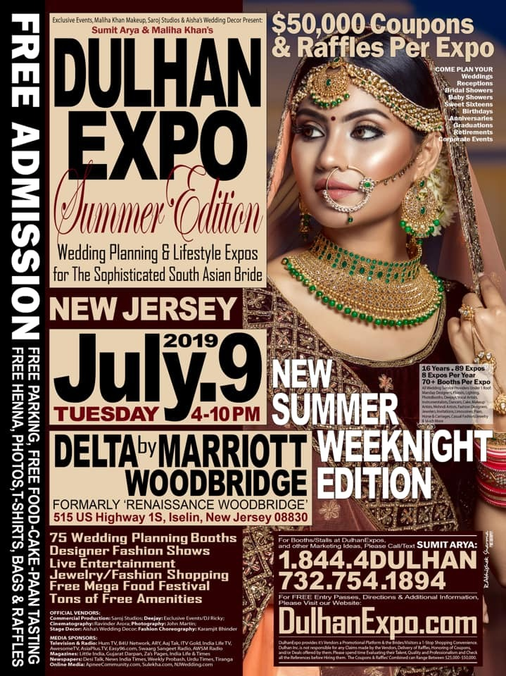 Dulhan Expo South Asian Bridal Show - Summer Edition