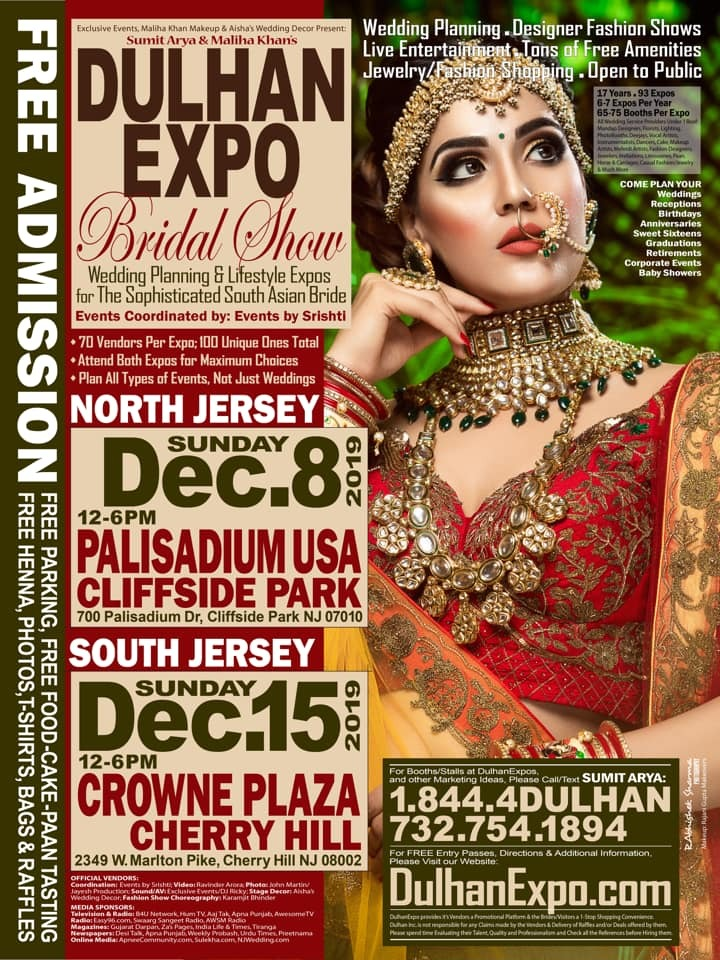 Dulhan Expo South Asian Bridal Show
