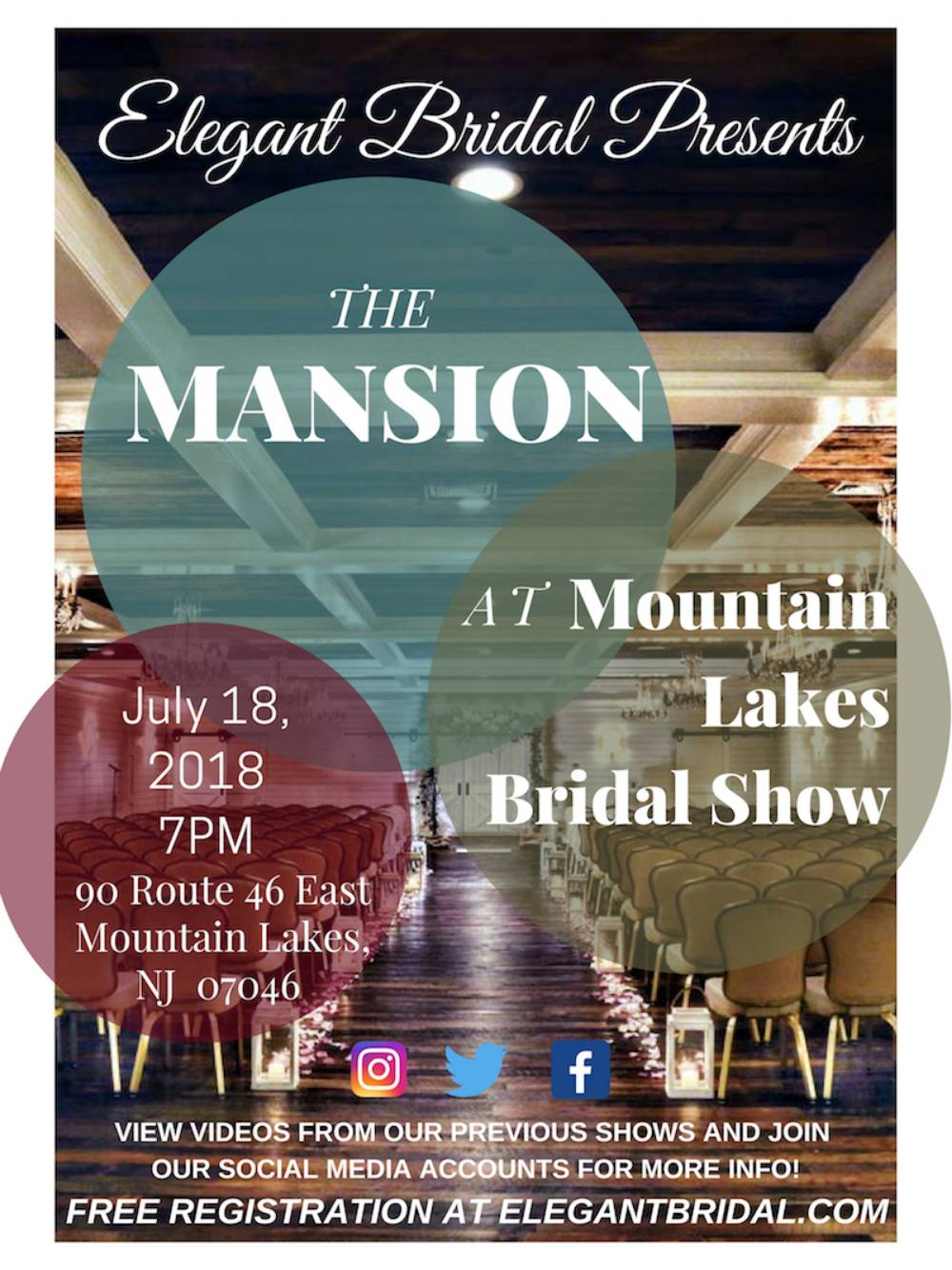 The Mansion at Mountain Lakes Bridal Show