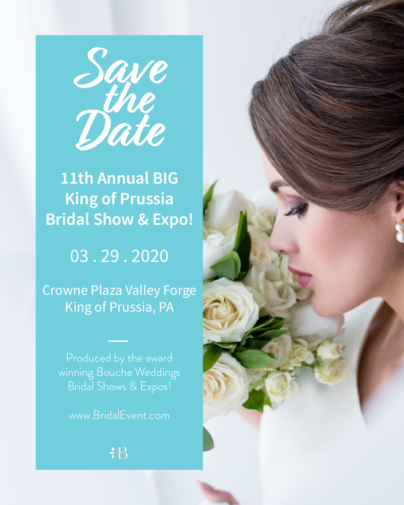POSTPONED - The 11th Annual Big King of Prussia Bridal Show and Expo!