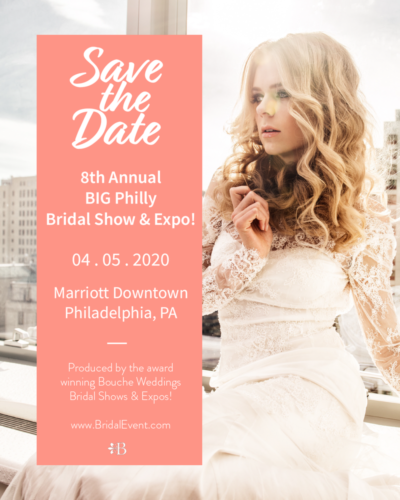 POSTPONED - The 8th Annual Big Philly Bridal Show and Expo!