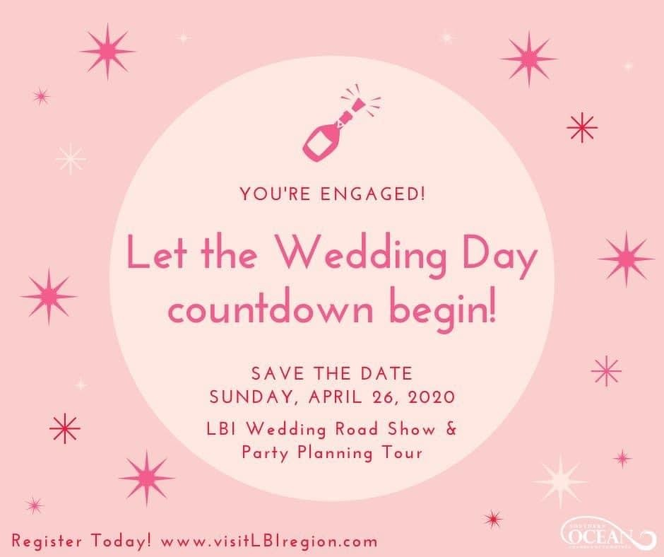 Experience the Ultimate Virtual Showcase with April 26 LBI Wedding Road Show & Party Planning Tour
