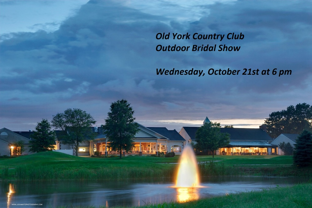 NJ Outdoor Bridal Show at Old York Country Club