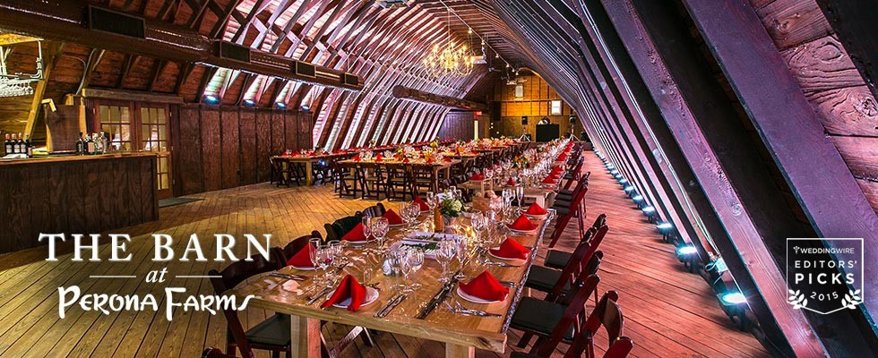 Perona Farms Among Top 20 Nationally for Barn Weddings