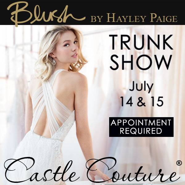 Blush by Hayley Paige Trunk Show