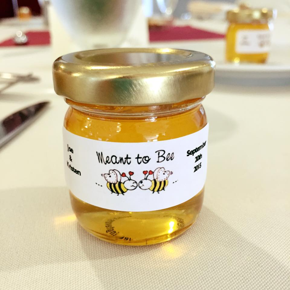 Kristen and Joseph's Honey Jar Wedding Favors Story