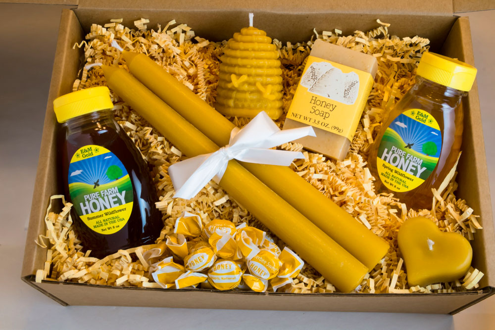 Wedding Party Honey Gift Boxes