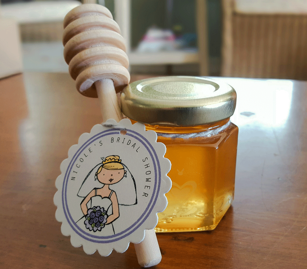 DIY Honey Jar Wedding Favor Ideas